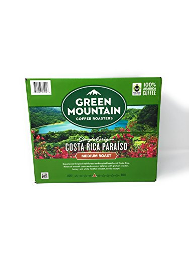 Green Mountain Coffee Costa Rica Paraiso K cup 54 K cup