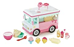 Num Noms lipgloss truck is lip-smacking fun! Mix your own flavored Lip gloss with cherry, vanilla and glitter sprinkles! Pour the lip gloss into the truck and dispense it like soft serve ice cream into a Nom lip gloss sundae container. Perfec...