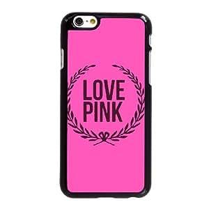 Rosa amor M1V4Rb Funda LG G 6 6S 4.7 pulgadas del teléfono celular funda funda encargo de la caja Negro J7V2UW duro