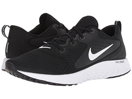 [NIKE(ナイキ)] メンズランニングシューズ?スニーカー?靴 Legend React Black/White 9.5 (27.5cm) D - Medium