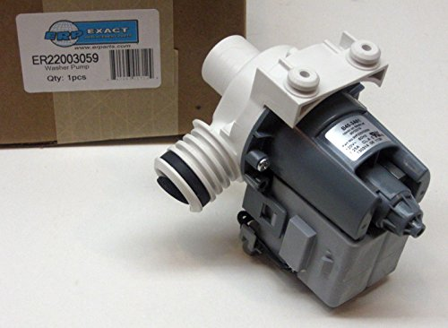 Price comparison product image JE A Maytag Neptune Front Load Washer Drain Pump Motor 22002550 22003059 by ERP