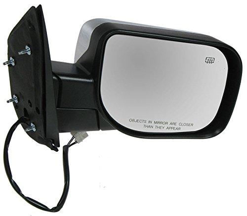 - Power Heated Chrome Door Mirror Passenger Side Right RH for Nissan Truck Pickup