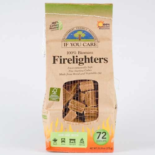 (Pack Of 10) Firelighters   IF YOU CARE