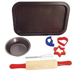 Entemann\'s ENT39014 7-Piece Kids Baking Set