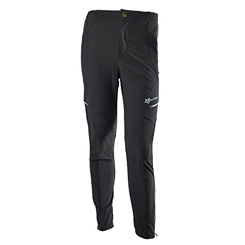 RockBros Men's Women's Cycling Bike Pants Tights Long Pants Trousers Black for Summer