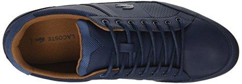 Lacoste Chaymon, Sneaker Uomo Blu (Nvy/Tan)