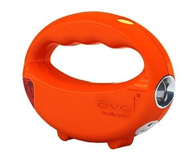 Alert Stamping OV-3 Ultra Oval Battery-Operated LED Handheld Walk Light