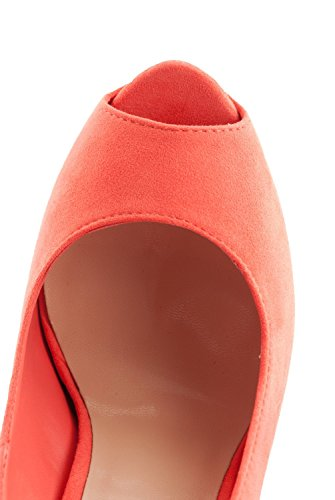 Breckelles Judy-21s Plate-forme Pompes-chaussures Pêche