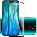 Kavacha Tempered Glass for Xiaomi Redmi Note 8 PRO Original Screen Protector 5D Curved Pack of 1 Xiaomi Redmi Note 8 PRO Screen Protector - Black