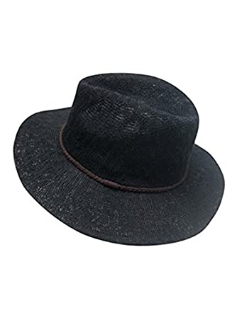 6805b8da127 Image Unavailable. Image not available for. Color  Factory95 Black Knit Panama  Hat
