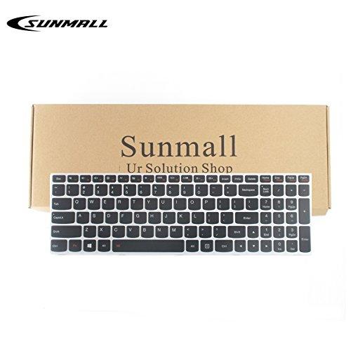SUNMALL b50 keyboard for Lenovo, Laptop Keyboard Replacement with Backlight for Lenovo LdeaPad Flex 2 15 B50 B50-30 B50-45 B50-70 B50-80 B51-80 G50 G50-30 G50-45 G50-70 US Layout