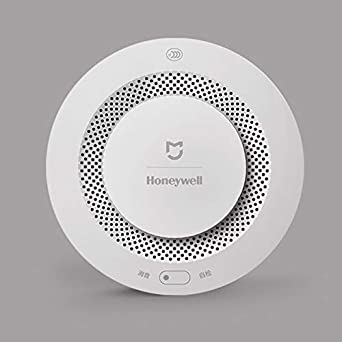 Original Xiaomi Mijia Honeywell Fire Alarm Detector Remote Control Audible Visual Alarm Notication Work with Mi Home APP: Amazon.es: Industria, ...
