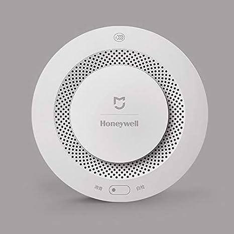 Original Xiaomi Mijia Honeywell Fire Alarm Detector Remote Control Audible Visual Alarm Notication Work with Mi Home APP: Amazon.es: Industria, ...