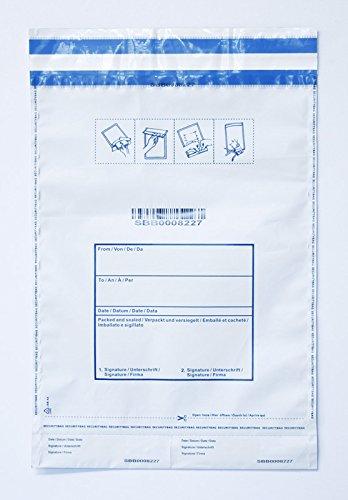 2377c2ea7c 50 Buste di Sicurezza anti-manomissione. Porta documenti e porta valori.  Buste monouso