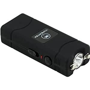 VIPERTEK VTS-881 - 28,000,000 V Micro Stun Gun - Rechargeable with LED Flashlight (Black)