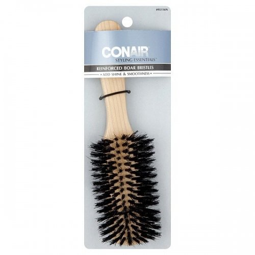 Conair Wood Brush with Mixed Boar Bristles, Flair