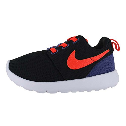 Nike - SCARPE NIKE ROSHE ONE INFANT NERE E ARANCIONE FLUO P/E 2016 749430-029 - 302234 - 22