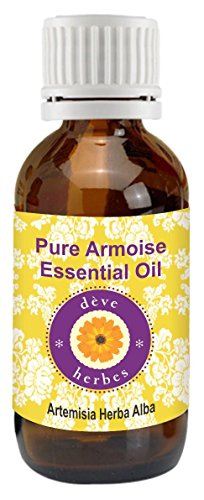 Pure Armoise Essential Oil 10ml -  Artemisia herba alba (Oil Bath Artemisia)