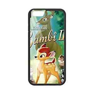 iPhone6 Plus 5.5 inch Phone Ceses Black Bambi II The Groundhog BF870910