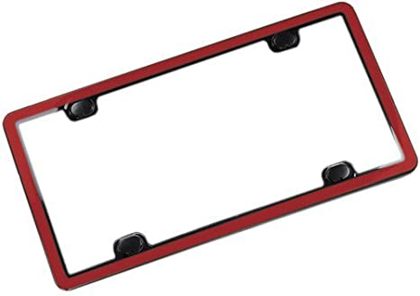 8ALPCC21 ClearCover License Plate Frame, Blue WeatherTech