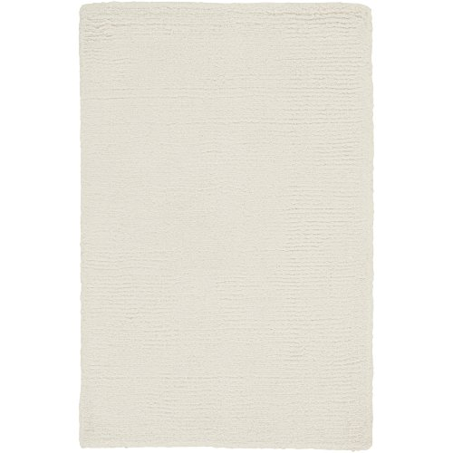 - Surya Mystique M-262 Transitional Hand Loomed 100% Wool Ivory 2' x 3' Accent Rug