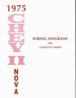 41UOEar%2BQML._SX258_BO1204203200_ 1975 chevy nova wiring diagram manual reprint gm amazon com books