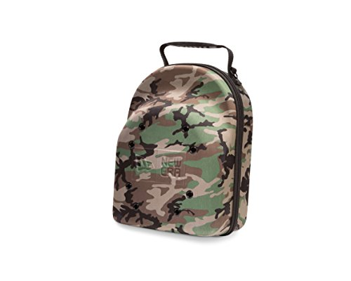 New Era 6 Cap Carrier, Woodland Camouflage ()