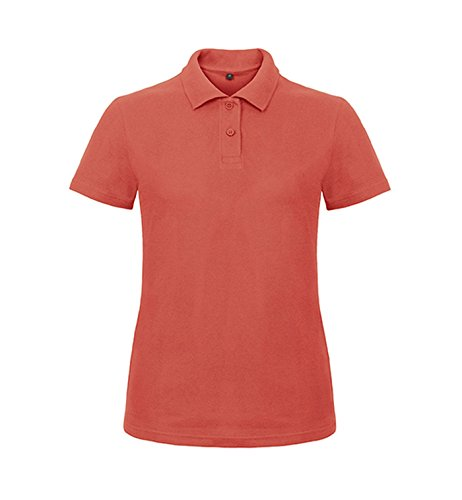 Mujer 2store24 Coral 001 Id Polo Pixel qHHR6twz