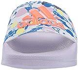 adidas Boy's Adilette Shower Slide, Purple