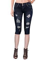 HyBrid & Company de la Mujer Butt Lift V2Super Comfy Stretch Denim Skinny Jeans