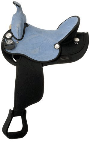 King Series Synthetic Trail Saddle Brown/BRWN 16