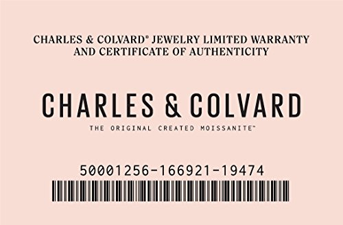 Forever Classic Yellow Gold 1.8mm Moissanite Wedding Band - size 6, 0.33cttw DEW By Charles & Colvard by Charles & Colvard (Image #6)
