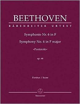 ベートーヴェン: 交響曲 第6番 ヘ長調 Op.68 「田園」/原典版/デル・マー編/ベーレンライター社: 指揮者用大型スコア