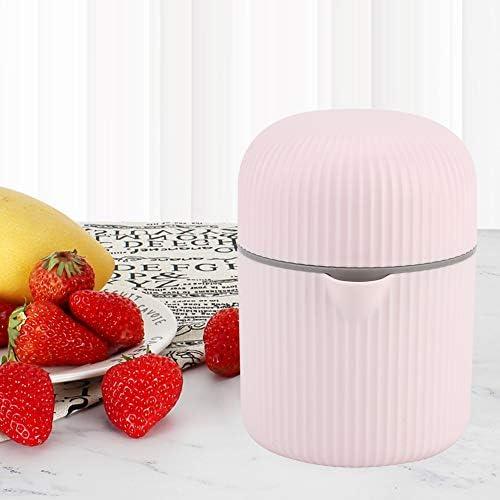 Mini Exprimidor Portátil, Exprimidor Positivo Negativo Manual Multipropósito Exprimidor de Frutas para Viajes, Oficina