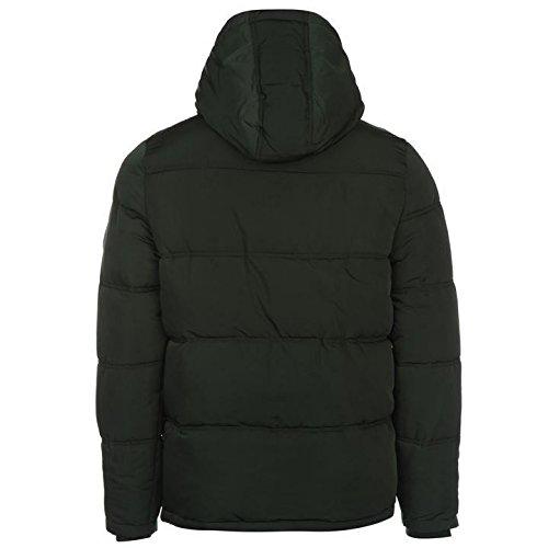 Soulcal doublé Bubble Veste pour homme Vert vestes manteaux Parka