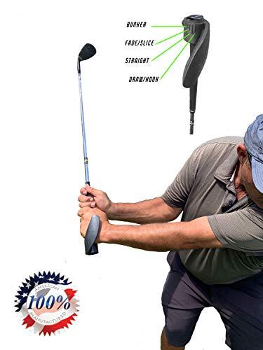 Lock-in Golf Grip, Golf Training aids, Golf Grip Trainer, Golf Wrist Hinge, Golf Grip Training aid - Large Right Handed Golfer - Fits on Left Hand