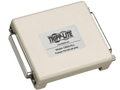 Tripp Lite Datashield Serial In-Line Surge Protector, DB25 (DB25-ALL)