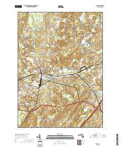 Ayer, Massachusetts topo map by East View Geospatial, 1:24:000, 7.5 x 7.5 Minutes, US Topo, 22.8