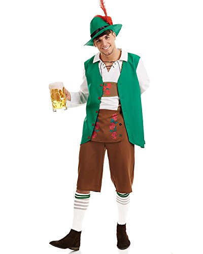 Coustume Ideas (MARIAN Halloween Couples Coustume German Oktoberfest Costume for Men (M))