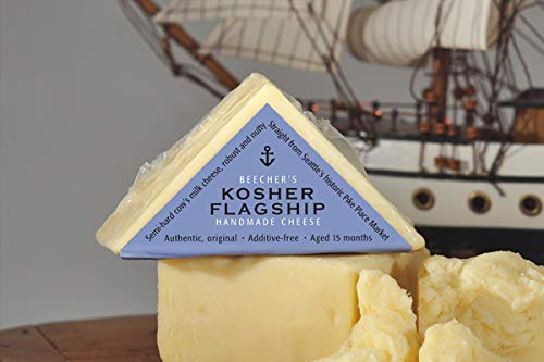 Beecher's Handmade Cheese - Kosher Flagship - Authentic, All-Natural and Additive Free (10-pack, 7 oz each)