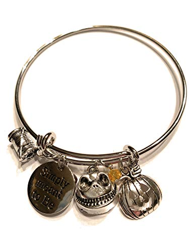 Ivy & Clover Bangle Inspired by Nightmare Before Christmas Simply Meant to Be]()