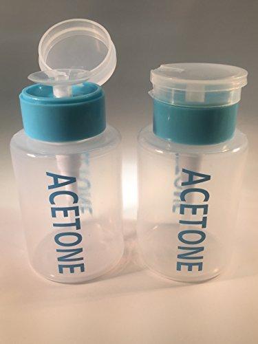 Beauticom Acetone Labeled Dispenser Quantity