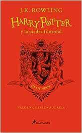 HP y la piedra filosofal-20 aniv-Gryffindor: Valor · Coraje ...
