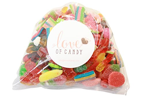 Love of Candy Bulk Candy - Candy Lovers Assortment - 2lb - Punch Champagne Watermelon