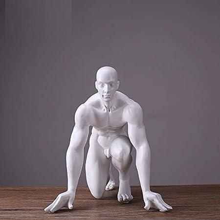 LKXZYX Boda Decoracion Figuras de Grandes Salon candelabros Jardin Exterior,Talla Hombre Personajes Figura Decoración del hogar Regalos de Boda: Amazon.es: Hogar