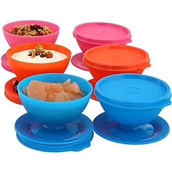 Amazon Com Dessert Cups Bowls With Lids For Parfait
