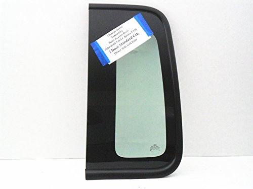 Side Ppg Auto Glass - PPG / ATI Fits 2004-2008 Ford F150 2 Door Standard Cab Pickup Driver Side Left Rear Rear Quarter Glass Stationary DQ10469GTY