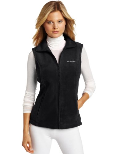 Columbia Women's Benton Springs Vest, Black, Large