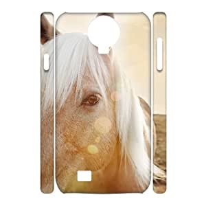 Horse Running Custom 3D Cover Case for SamSung Galaxy S4 I9500,diy phone case ygtg521854