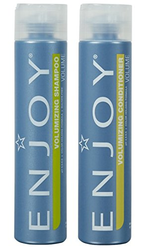 Enjoy Volumizing Shampoo and Conditioner 10.1 oz Duo Set